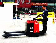 AC Motor Electric Stacker Truck With Lithium Battery 2000kg Load Capacity