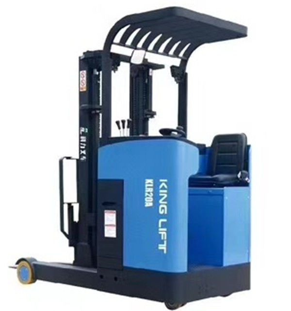 Quick Changing Electric Stacker Truck Reach Truck 7.5m Lifting Height